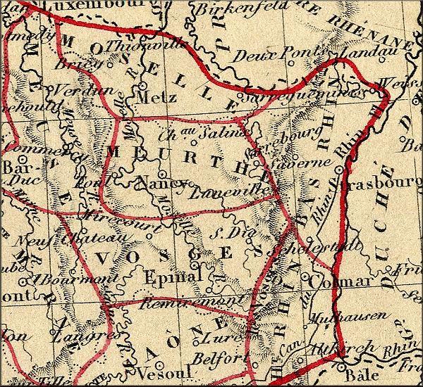 Carte Annexion Alsace Lorraine.Histoire De L Alsace Lorraine Elsass Lothringen France
