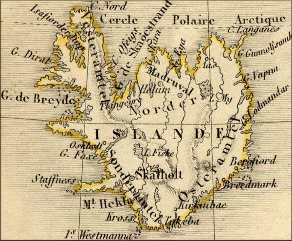 histoire de l'Islande / Iceland / Island   l'Europe de la Poste