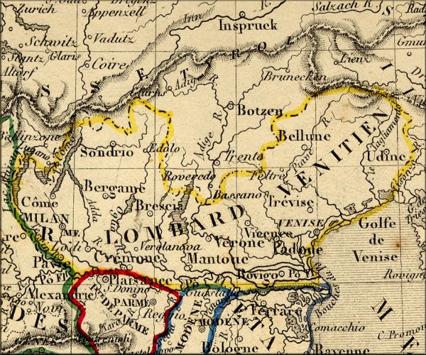 histoire de la Lombardie / Lombardia (Italie / Italia / Italy)   l